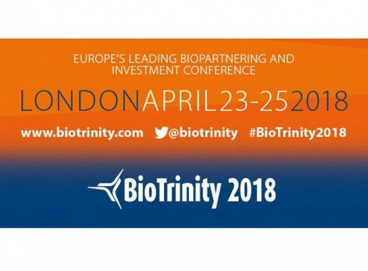 GeneQuine to attend Biopartnering and Investment Conference BioTrinity in London April 23 – 25, 2018
